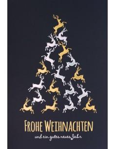 Weihnachtskarte ohne Spende
