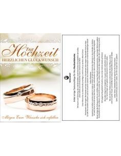 Hochzeitskarte-Eheringe