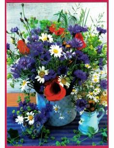 Glückwunschkarten ohne Text - Blumenstrauss