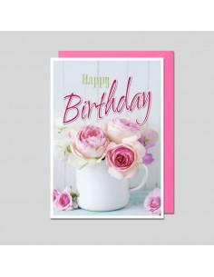 Geburtstagskarte-Rosen