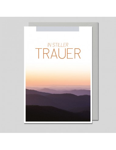 Trauerkarte - In stiller Trauer