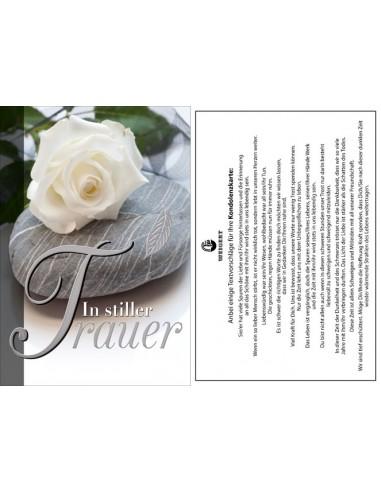 Trauerkarte - In stiller Trauer