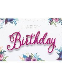 Geburtstagskarten - Happy...