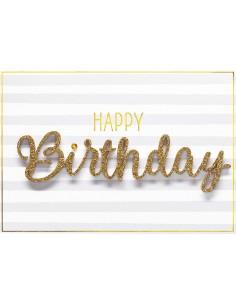 Geburtstagskarte - Happy...