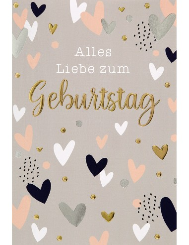 Geburtstagskarte - Alles Liebe zum...