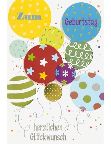 Geburtstagskarte - Zum Geburtstag...