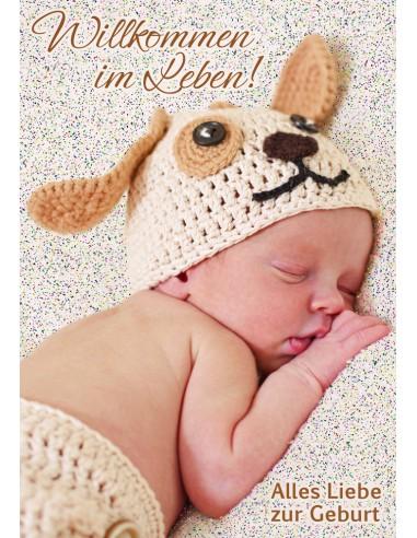 Babykarten - schlafendes Baby
