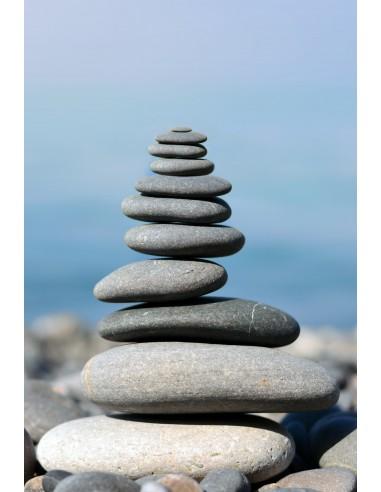 Glückwunschkarte ohne Text - Steinturm